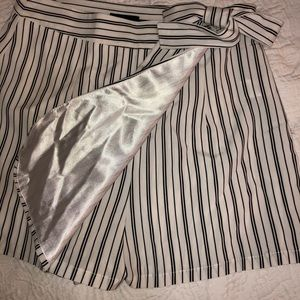 Cute striped skort